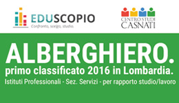 Alberghiero. Primo Classificato 2016 in Lombardia